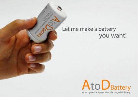Shape-Shifting Battery Which Fits Every Size
