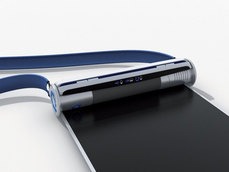 rolltopportablecomputer2 Roll it Up – The Flexible Future Laptop