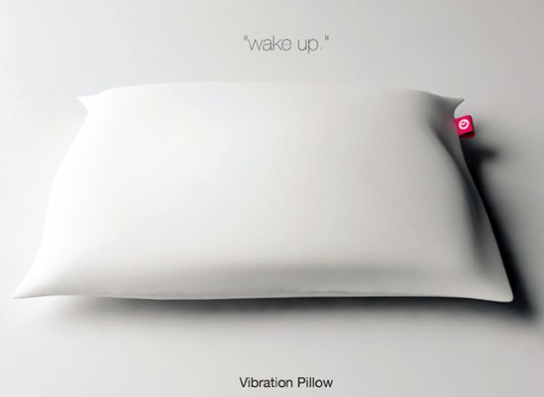 wake up 1 New Gadget Pillow That Acts As Your Alarm Clock!