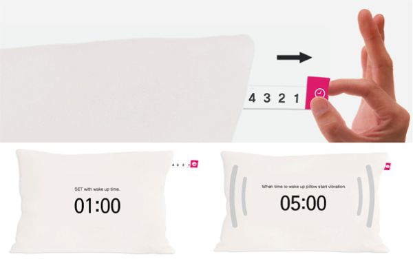 wake up New Gadget Pillow That Acts As Your Alarm Clock!