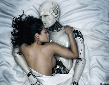 womanrobotcor 450x350 Robot Programmed to Fall in Love with a Girl Goes too Far