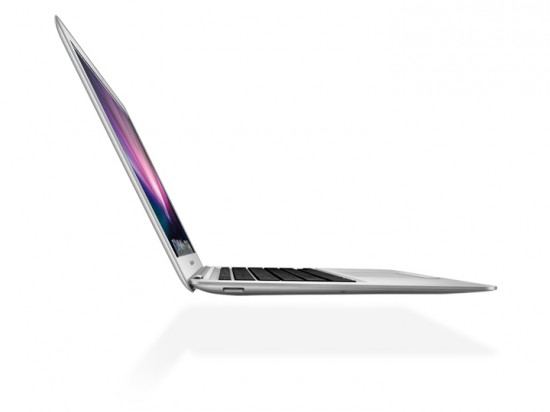 MacBookAir2 550x412 Top 10 most Stylish Laptops