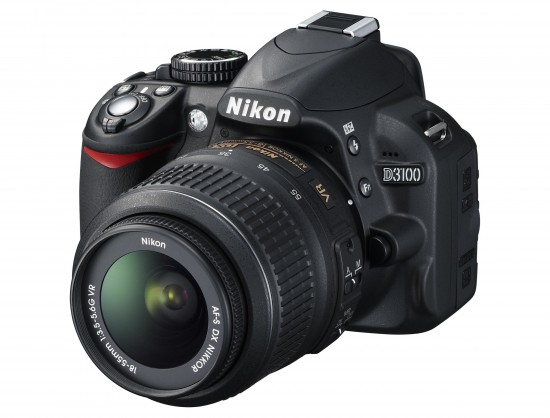 Nikon D3100 550x418 Top 10 Digital Cameras