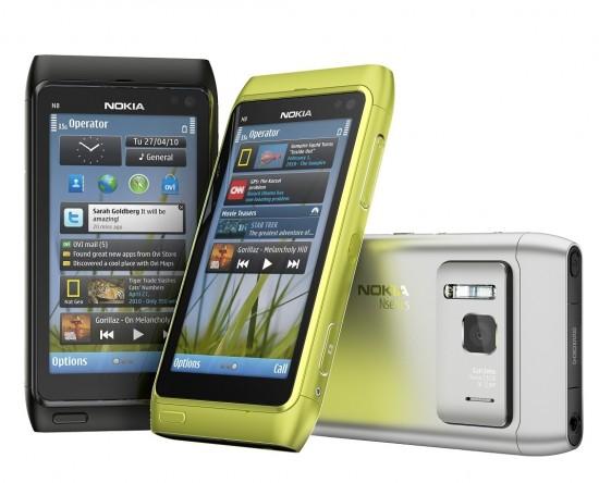 Nokia N8 011 550x444 Top 10 Smartphones