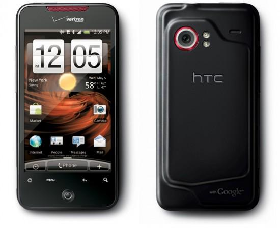 Verizon Wireless DROID Incredible image 550x448 Top 10 Smartphones