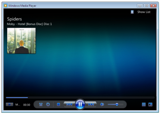 Windows media player 12 550x391 Top 10 Media Players for Windows