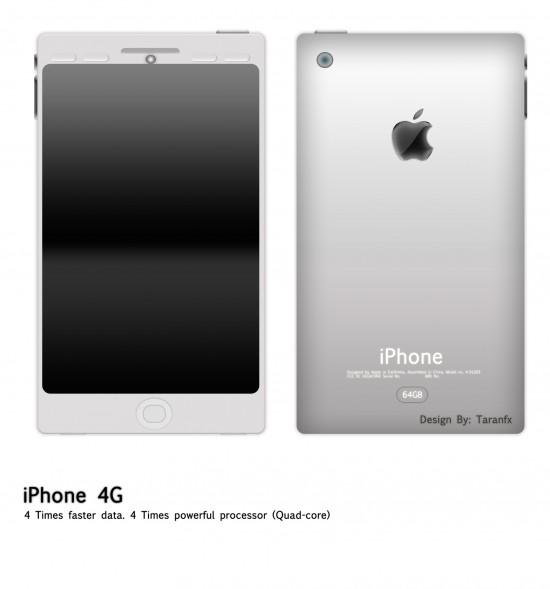 iPhone4g fx 550x589 Top 10 Smartphones