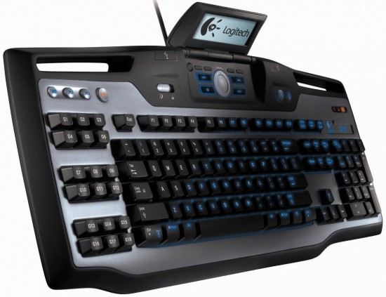 logitech g15 keyboard 5 550x423 Top 10 Gaming Keyboards