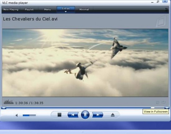 vlc media player2 550x432 Top 10 Media Players for Windows