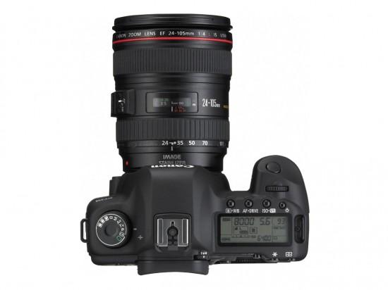 Cannon EOS 5D 550x412 Top 10 Professional Cameras (DSLR)