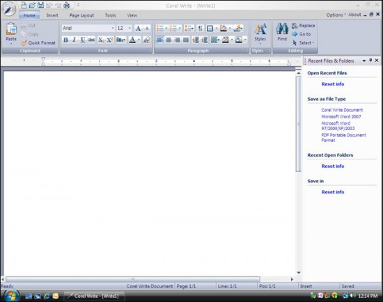Corel Write2 550x434 Top 10 Word Processing Software