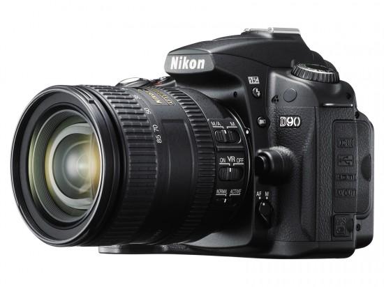 Nikon D90 550x412 Top 10 Professional Cameras (DSLR)