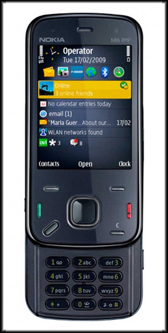 Nokia N86 8MP indigo Picture Release 550x1090 Top 10 Nokia mobiles