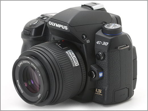 Olympus E 30 Top 10 Professional Cameras (DSLR)