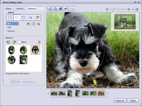 PhotoImpression6 Screenshot Editing Lowrez Aug0306 550x412 Top 10 Image Editing software