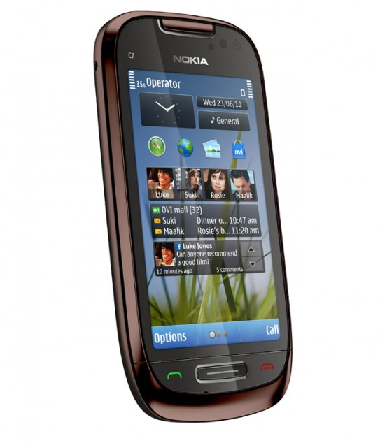 nokia c7 smartphone 3 550x634 Top 10 Nokia mobiles