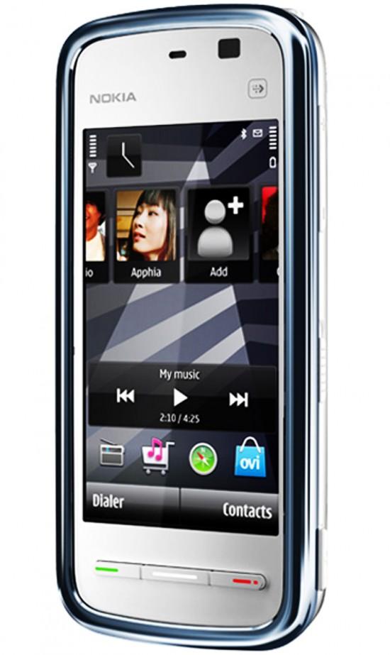 nokia 5230 550x923 Top 10 Nokia mobiles