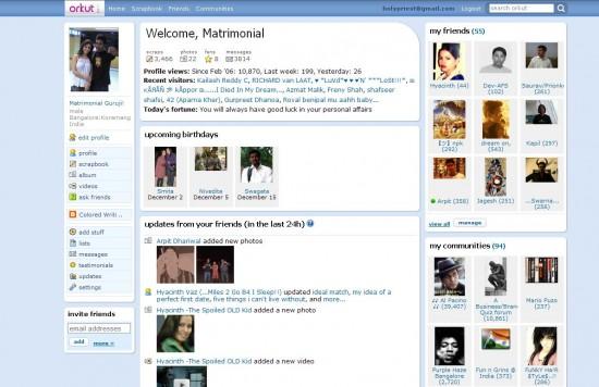 orkut11 550x356 Top 10 Messenger