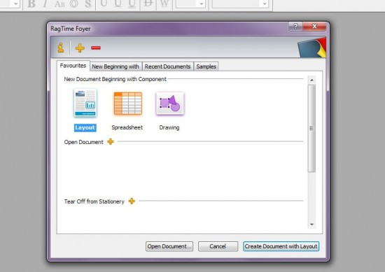 rag time 550x389 Top 10 Word Processing Software