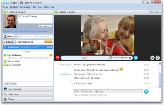 skype 550x352 Top 10 Messenger