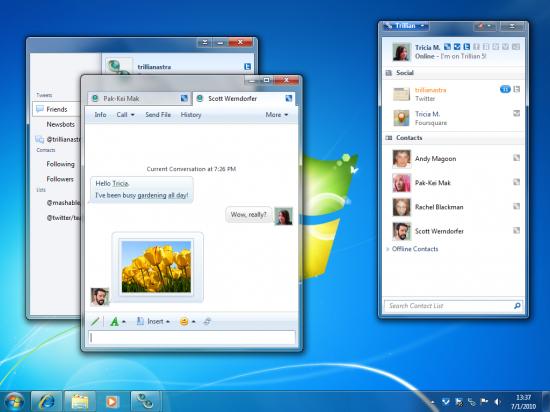 trillian5 desktop 550x412 Top 10 Messenger