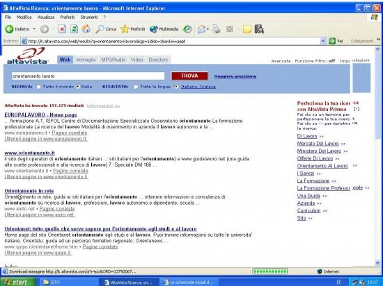 work altavista 550x412 Top 10 Search Engines