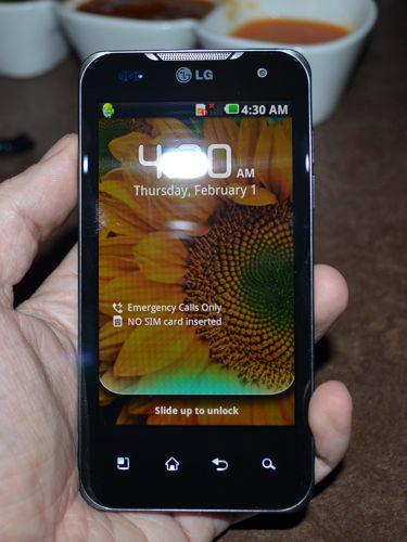LG Optimus 2X, the first dual-core smart phone!