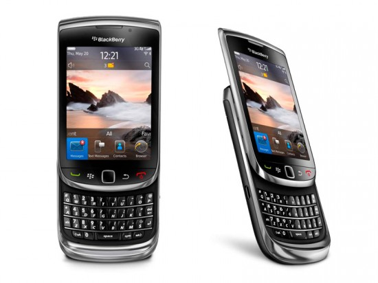 BlackBerry Torch 9800 550x412 Top 9 QWERTY Mobiles