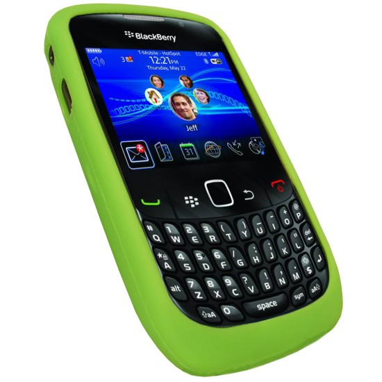 Green Silicone Case Blackberry Curve 8520 Front 550x550 Top 9 QWERTY Mobiles
