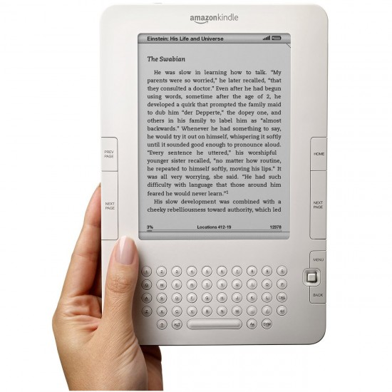 Kindle 2 front6 550x550 Top 10 Gadgets in 2011