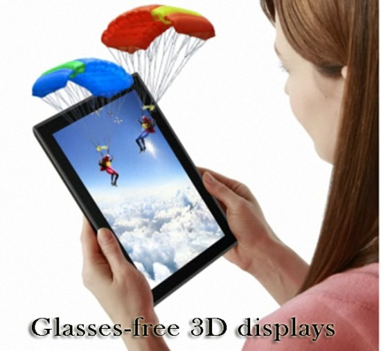 glasses free 3d displays 550x506 Glasses Free 3D a Reality