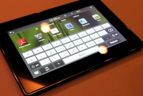 playbook keyboard.png blackberry 550x369 Top 10 Gadgets in 2011