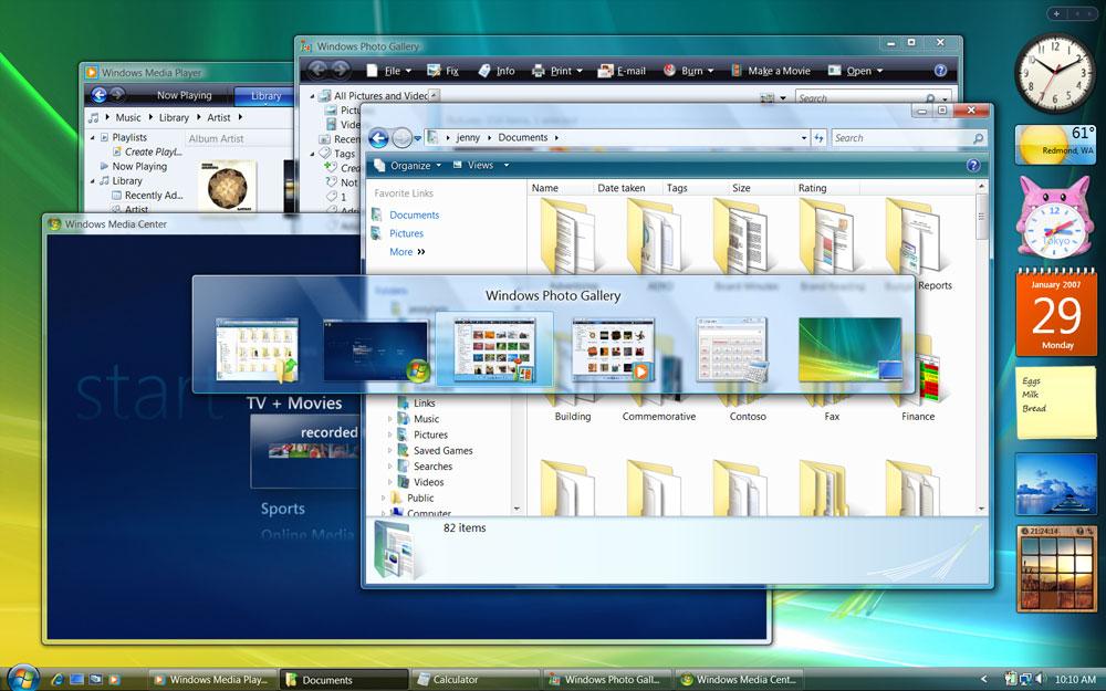 Create Shortcut Keys Windows Vista