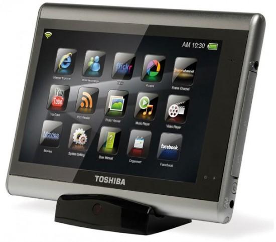 toshiba tablet 550x482 Top 9 Tablet PCs