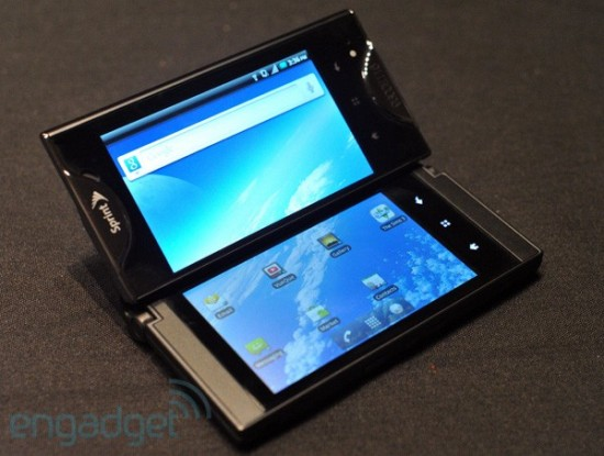 a2735 kyocera echo 600 rm eng 550x415 Sprint unveils dual screen, Android based Echo smartphone