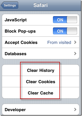 clear safary history iPhone How to delete the Search History of iPhone?