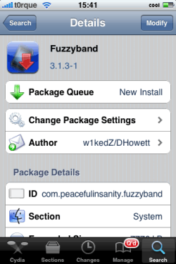 How to downgrade iPhone baseband 5.12.01 on 3.1.3 Firmware?
