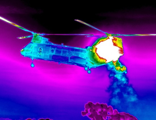 helicopter 5 ir 550x421 Top 10 Uses of Thermal Imaging