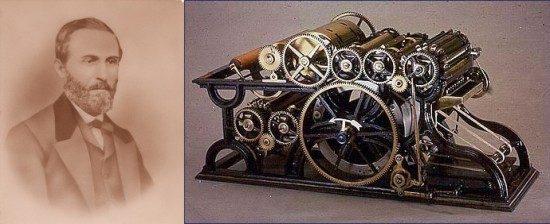 William Bullock An American Inventor Whose 1863 Invention Of The Rotary Printing Press Helped Revolutionize Industry Due To Its Great Speed