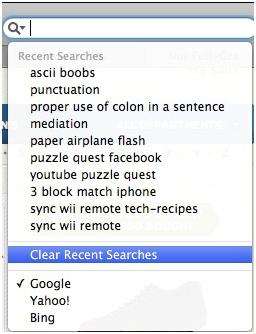 How to Clear Google Search History in Safari
