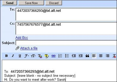 How to Send SMS through Email?
