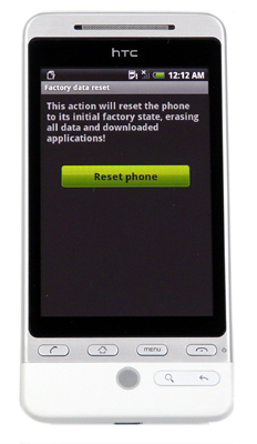 htc hero hard reset Steps to Hard Reset HTC Hero
