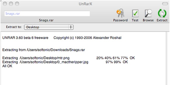 how to access rar files on mac