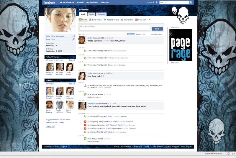 Top 10 Facebook Themes