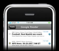 How to configure Google reader for Android?