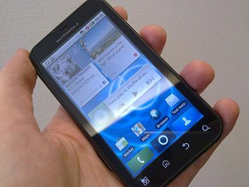 Motorola DEFY Motorola Defy Gets Andriod 2.2