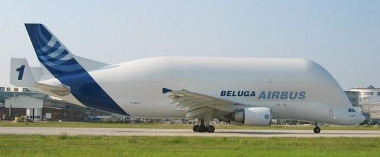 airbus beluga 550x228 Top 10 Weirdest Planes