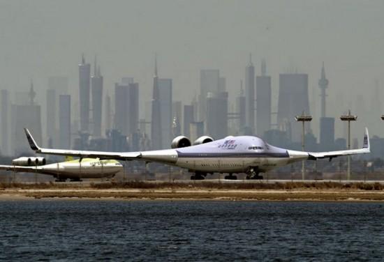 boeing x 48b 550x376 Top 10 Weirdest Planes