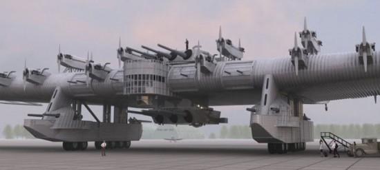 kalinin k7 550x247 Top 10 Weirdest Planes