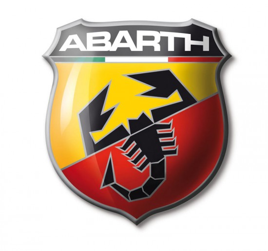 Abarth Logo 550x517 Complete List of Car Manufacturers From Around the World